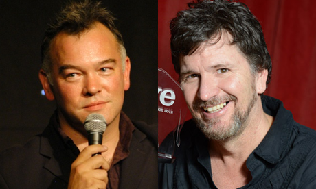 Stewart Lee and Stewart Francis