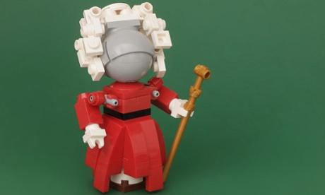 Robot judge made of Lego