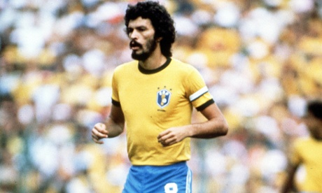 Brazil's Socrates during the 1982 finals.