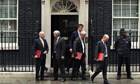 Ministers Attend Emergency Meeting Of COBRA And Cabinet Meeting Following London Riots