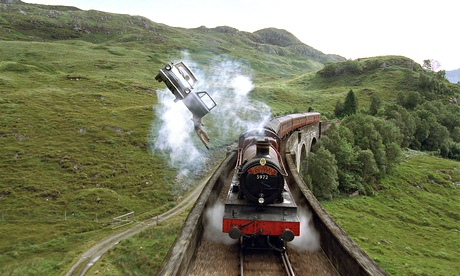 The Hogwarts Express, in Harry Potter and the Chamber of Secrets