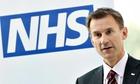 Jeremy Hunt NHS