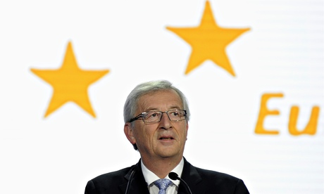'Deaf to the trumpets sounding at Europe's walls': Jean-Claude Juncker.