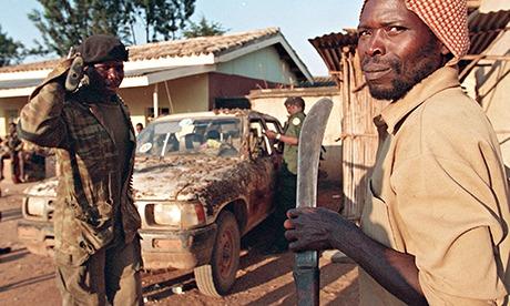 Hutu Interahamwe militiaman