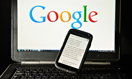 Google search results may indicate 'right to be forgotten' censorship