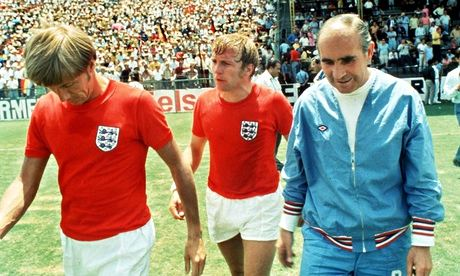 Sir Alf Ramsey after England lose to West Germany in 1970
