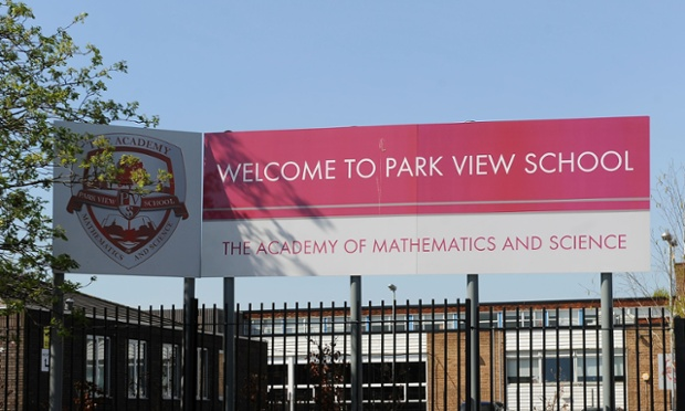 Park View school in Birmingham, which has been at the centre of allegations about the undue influence of extremists.