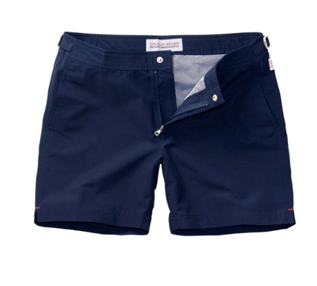 Tailored swimming shorts