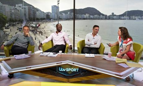 Hadley Freeman in the ITV World Cup studio