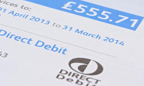 how to change direct debit account