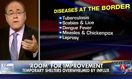 fox news diseases border
