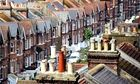 Rooftops in Hastings, Sussex. London and the south east have been the main beneficiaries of the econ