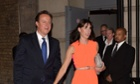 David and Samantha Cameron at the Conservative party summer ball 2013.
