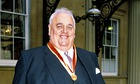 CYRIL SMITH INVESTITURE, BUCKINGHAM PALACE, LONDON, BRITAIN - NOV 1988