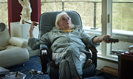 Jimmy Savile at home in Leeds, 2007