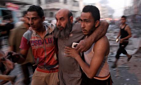 Israeli air attack on Gaza