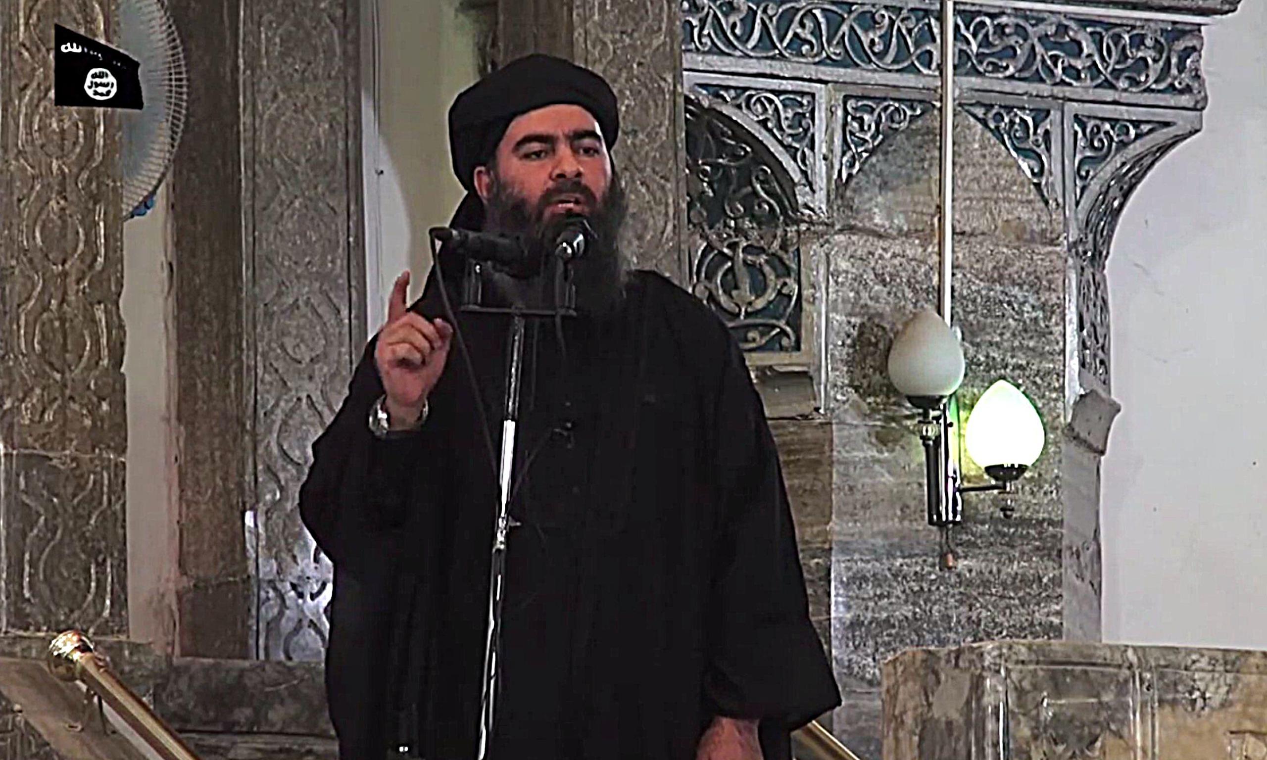 Abu Bakr al Bagdadi: self styled caliph