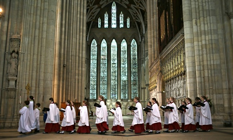 Choristers at York Minster