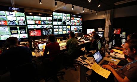 BBC World Cup studio