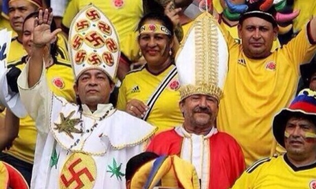 The Colombian Nazi weed pope