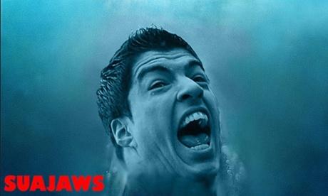 Suarez as Jaws