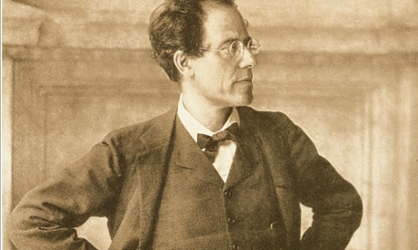 Gustav Mahler portrayed by Moritz Nahr in foyer of Vienna Court Opera, 1907.