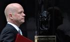 William Hague exit Cabinet reshuffle
