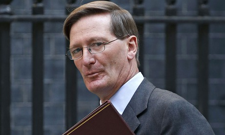 Britain's Attorney General Dominic Grieve aruncil, at 10 Downing Street in London
