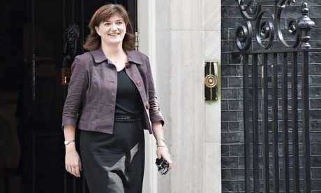 Women and equalities minister, Nicky Morgan, voted against gay marriage