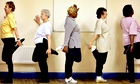 Older people keeping fit