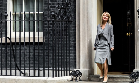 Esther McVey, one of three new Tory women promoted to cabinet. Photograph: Guy Corbishley/Demotix/Corbis