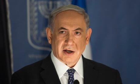 Israeli prime minister Binyamin Netanyahu.