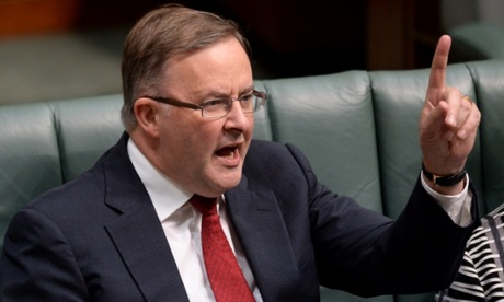 Anthony Albanese gets into the finger pointing.