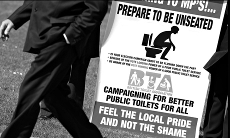 campaign for better public toilets in the runup to the 2005 general election