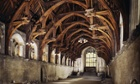 Westminster Hall in the Houses of Parliament, London
