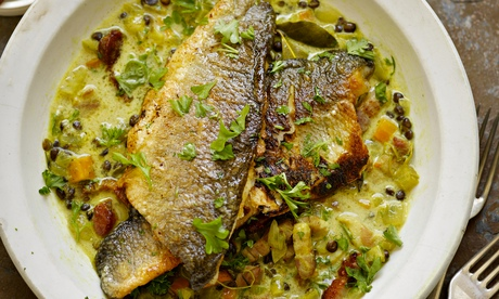 Tip the scales: Yotam Ottolenghi's recipes for sea bass, cod and scallops