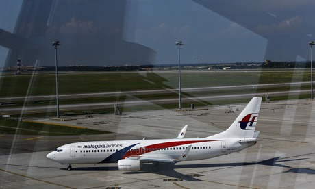 A Malaysia Airlines plane at Kuala Lumpur airport