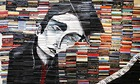Mike Stilkey paintings on discarded books