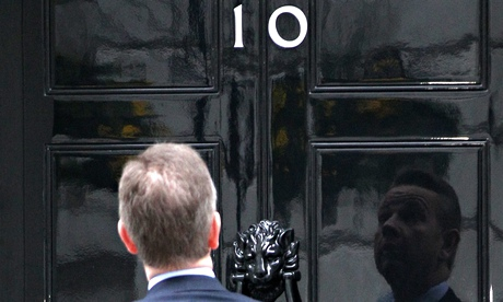 Michael Gove arrives in Downing Street to attend a cabinet meeting