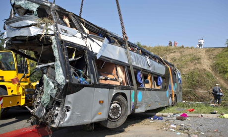 Dresden coach crash