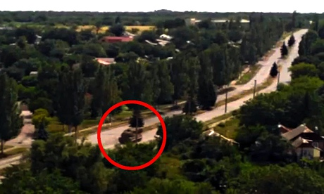 Buk missile system on video said to be eastern ukraine hours before aeroplane crash