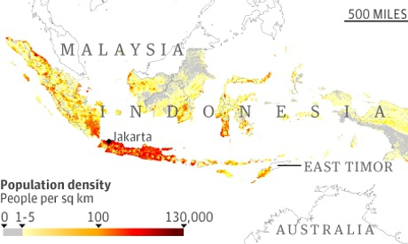 Indonesia population