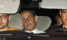 Nicolas Sarkozy brought for questioning by a judge investigating