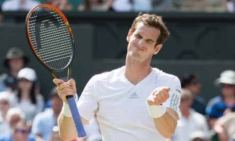 Andy Murray was beaten at Wimbledon in straight sets by Grigor Dimitrov.