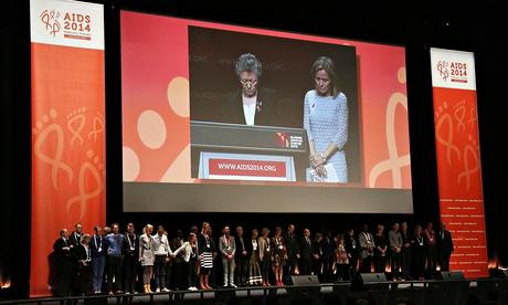 Aids 2014 symposium in Melbourne