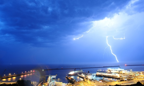 Thunderstorms And Lightning Strike In Kent