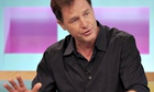 Nick Clegg appears of Channel 4's Sunday Brunch