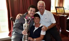 Rory McIlroy parents