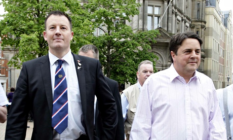 Teacher banned for life appointed to replace Nick Griffin as BNP leader