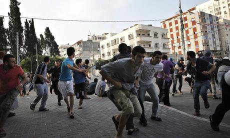 Gaza City air strike